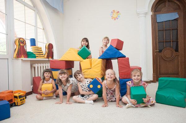 общая фотография детей частного детского сада в Ростове-на-Дону Капитошка