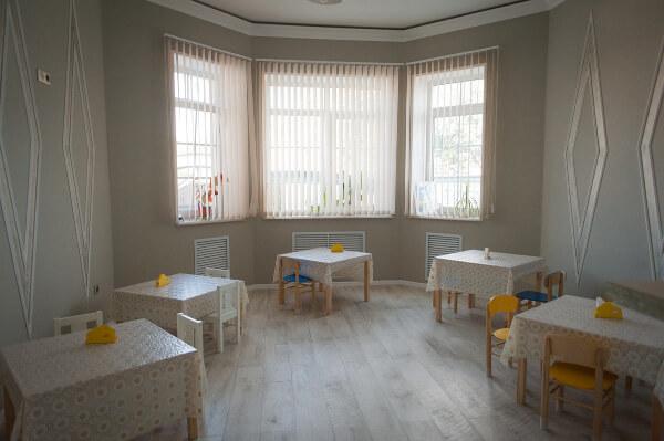 Кухня и меню в частном детском саду в Ростове-на-Дону Капитошка