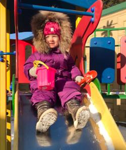 Новогодние утренники в частном детском саду Капитошка